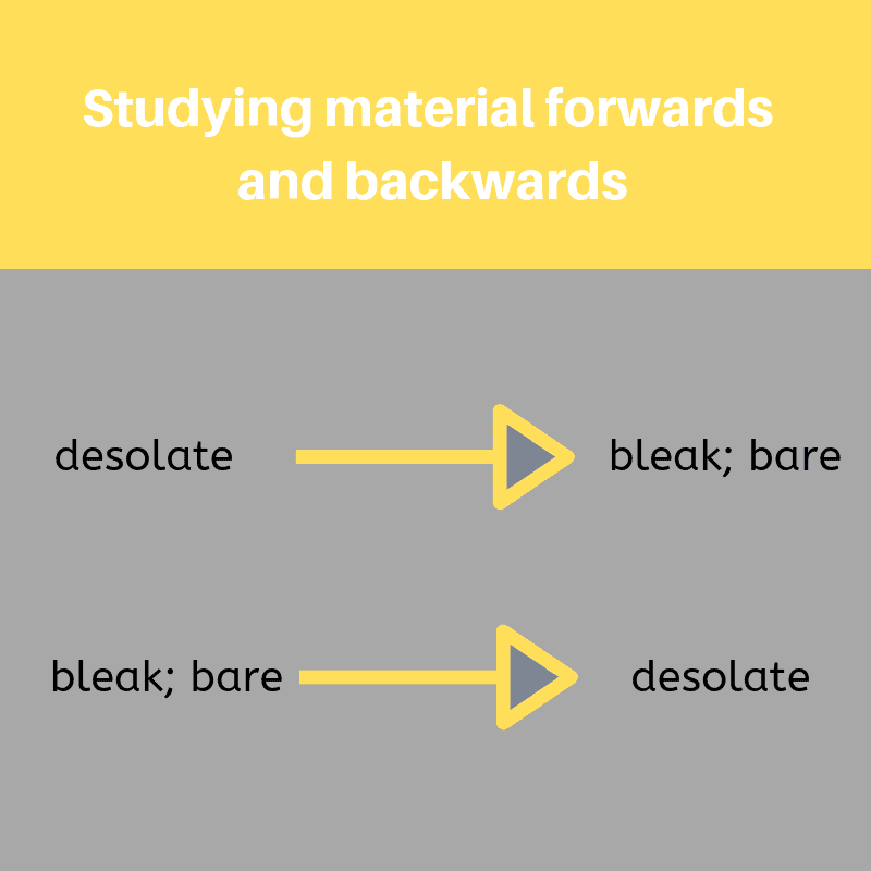 study tip for learning new information