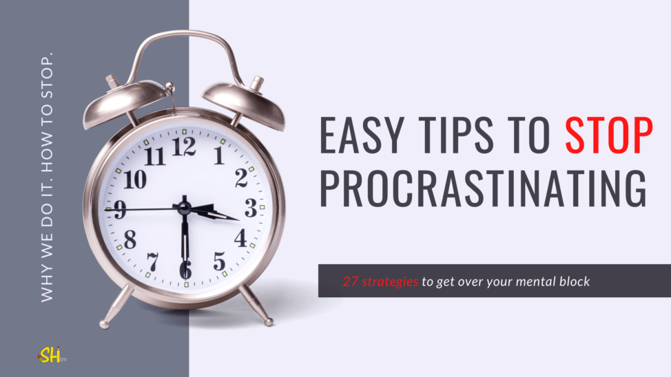 Easy tips to stop procrastinating (1)