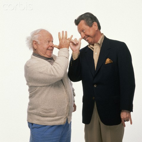 Mickey Rooney and Donald O'Connor 2 for the show and later doing Neil Simon Sunshine Boys.