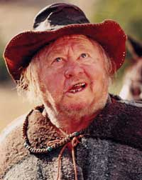 Mickey played the  outlaw OB Tagart in a film titled OUTLAWS 1993.