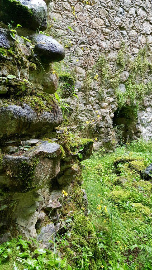 Castle stones in Scotland