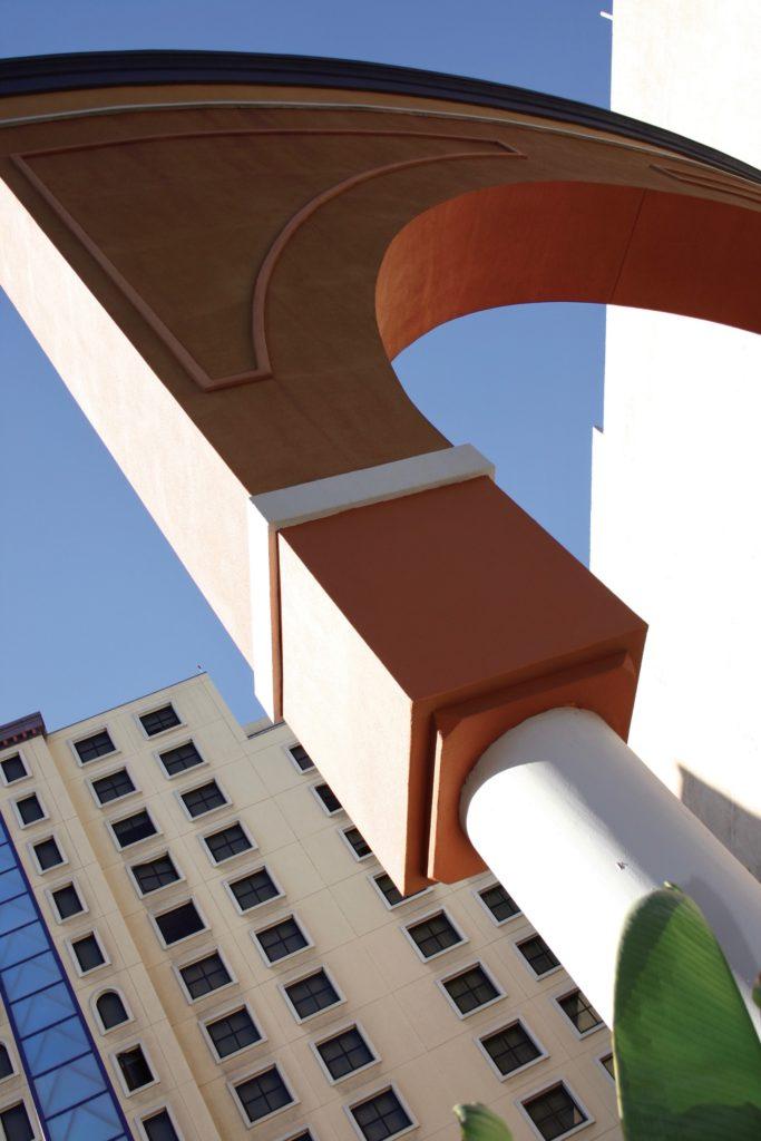 Orange Arch in San Diego