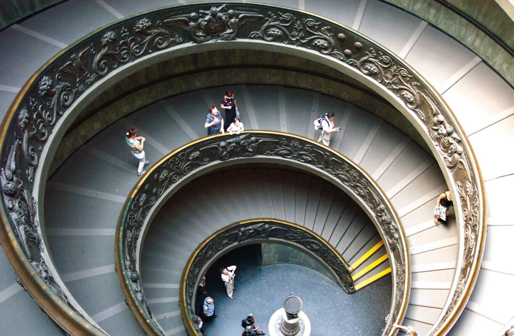 Da Vinci Staircase in the Vatican