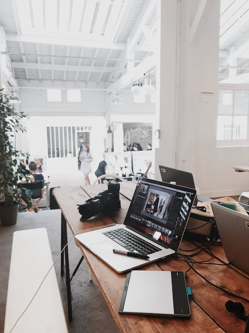 Laptop and Office