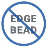 no edge bead