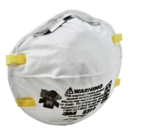 3M 8210 NIOSH N95 Mask