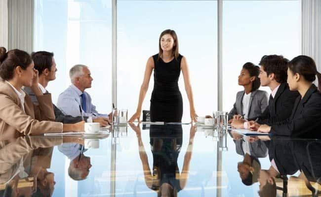Women Leaders in the boardroom increase company ROI