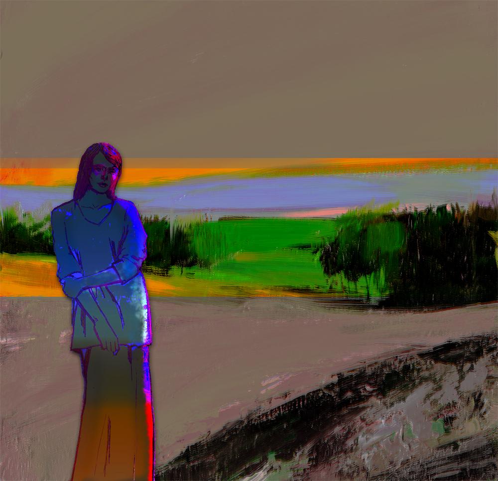 dark figure and landscape (1)