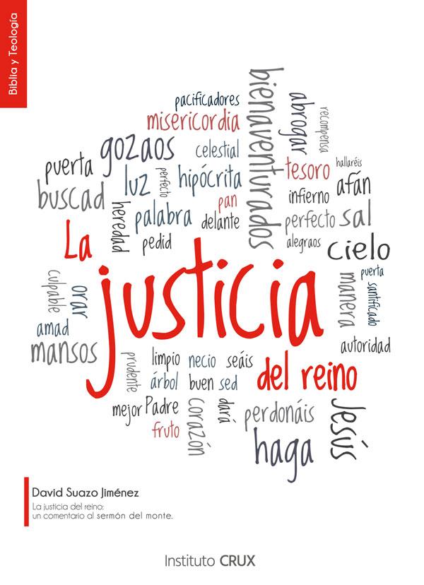 Fotografía del libro La Justicia del Reino del Dr. David Suazo