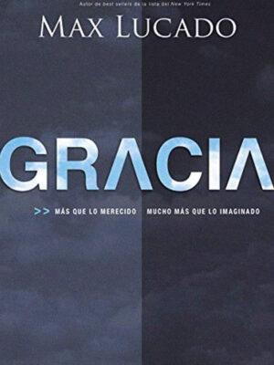 Portada del libro Gracia por Max Lucado