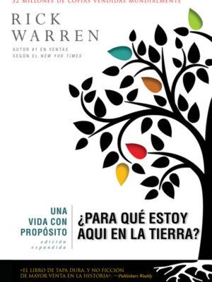 Portada del libro Una vida con propósito de Rick Warren