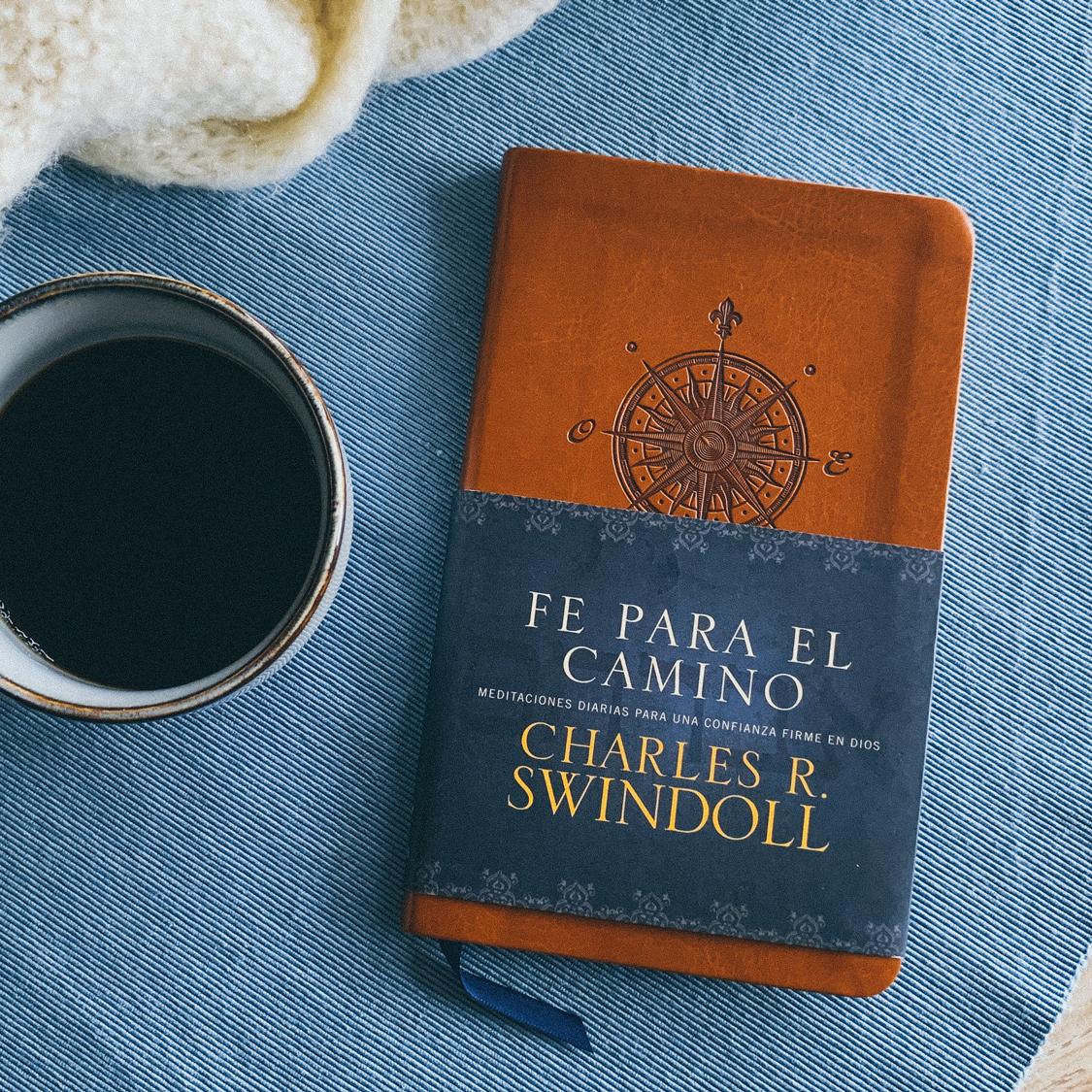 Fotografía del libro Fe para el camino de Charles R. Swindoll