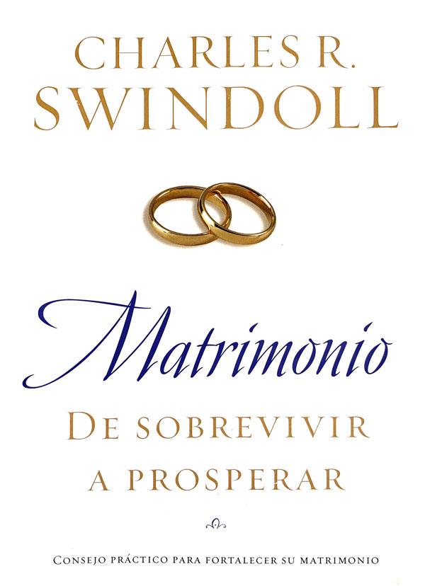 Portada del libro Matrimonio de sobrevivir a prosperar