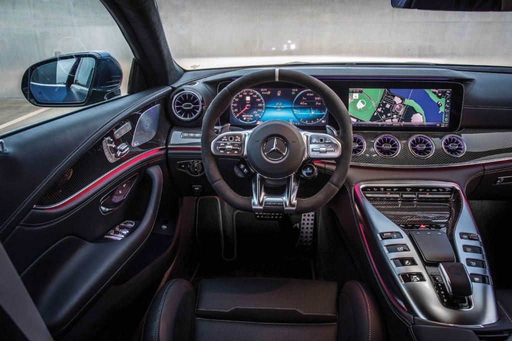 Mercedes-AMG GT 63 S 4-Door Coupe Interior