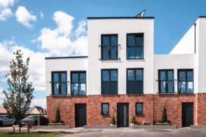 Project Etopia development in Corby, England