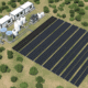 Image of proposed sustainable desalination project in the Sundarbans, West Bengal (CGI)