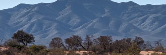 Mountains of the Flinders Ranges (Image Credit: Ann Doman)