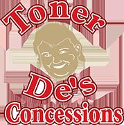 TONER DE'S CONCESSIONS & CUSTOM CONCESSION MANUFACTURING