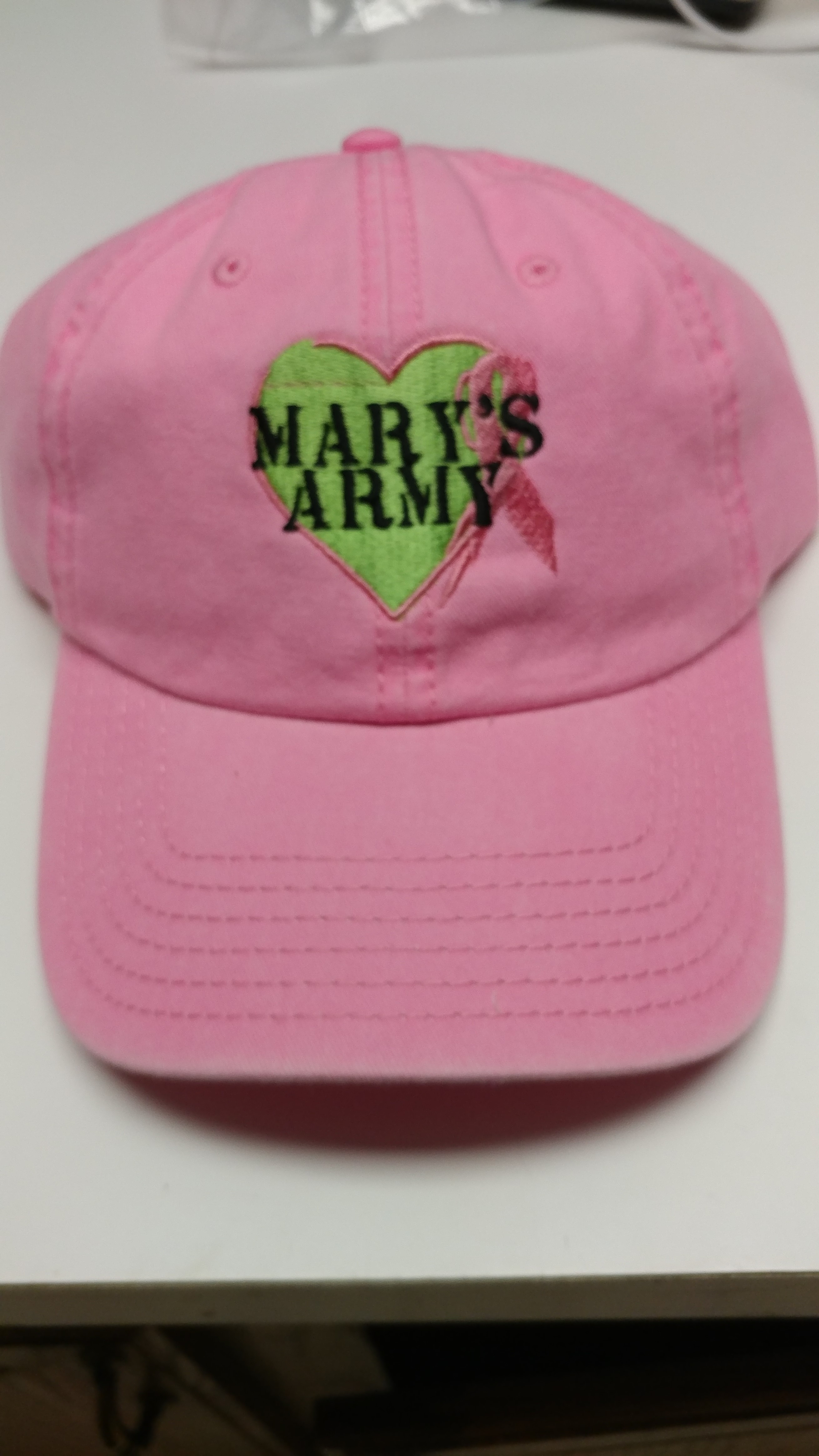 Mary's Army Hat Pink