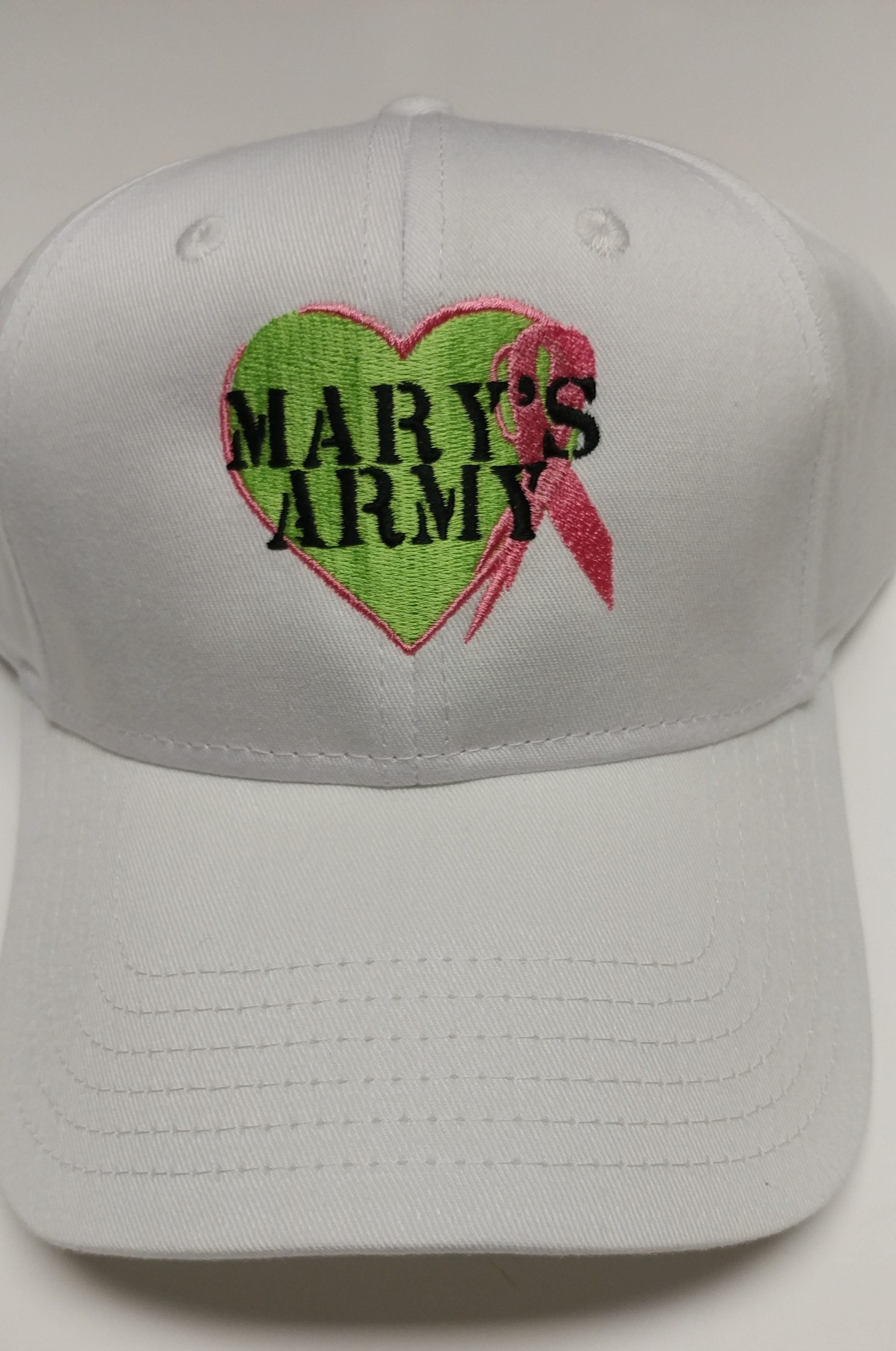 May's Army Hat White