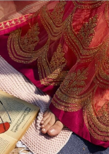 Punjabi Suit, Georgette suit, Party wear, Indian dress