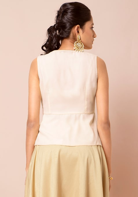 Peplum Top, Crop Top, Indo-western blouse