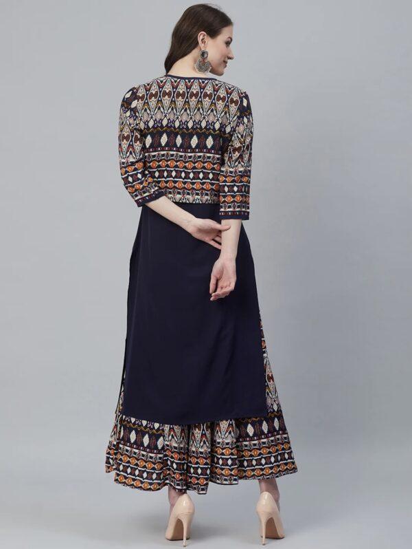 Salwar suits, ethnic Jacket, Jacket style salwar, Kurti, plazzo