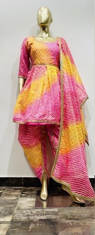 Dhoti Suit, Dhoti pants, Indo-western wear