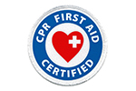 CPR FIRST AID CERTIFIED