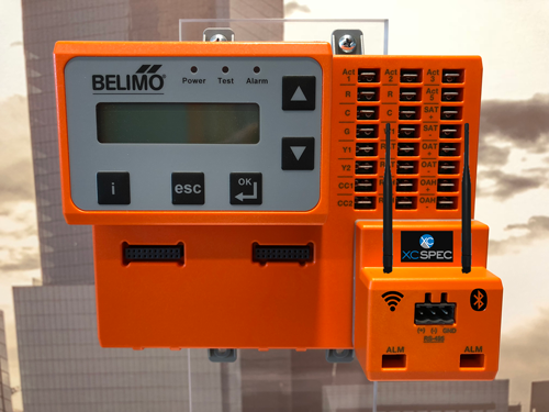 Economizer Controller from BELIMO with IOT Zip Pro