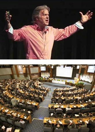 Bob Pritchard Speaking Images