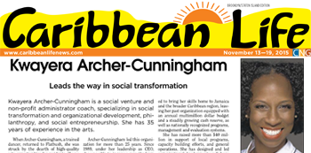 Honored – Caribbean Life Impact Awards