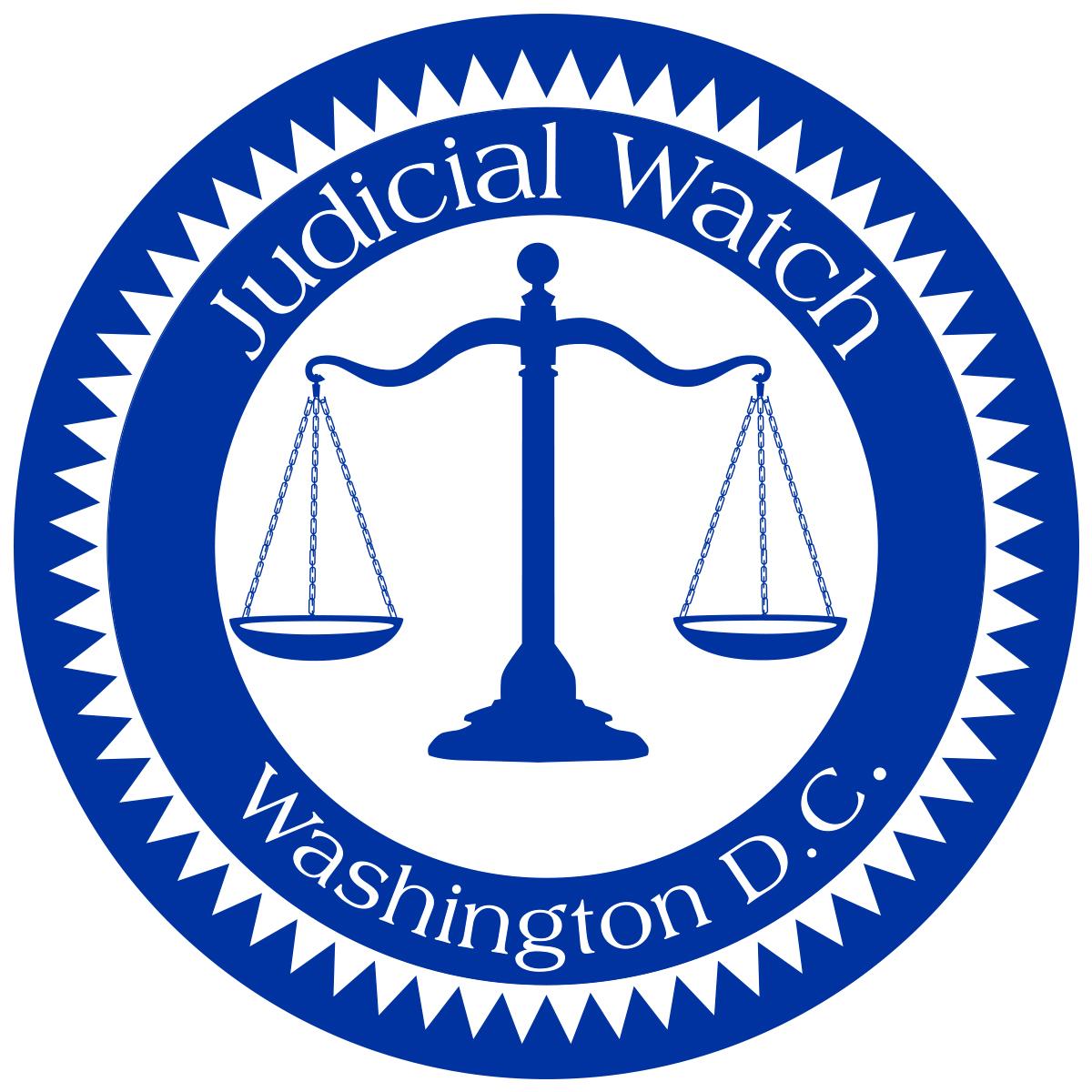 Judicial Watch Decal