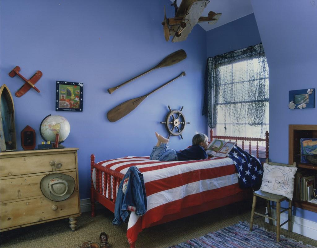 NE Barn Boys Bedroom