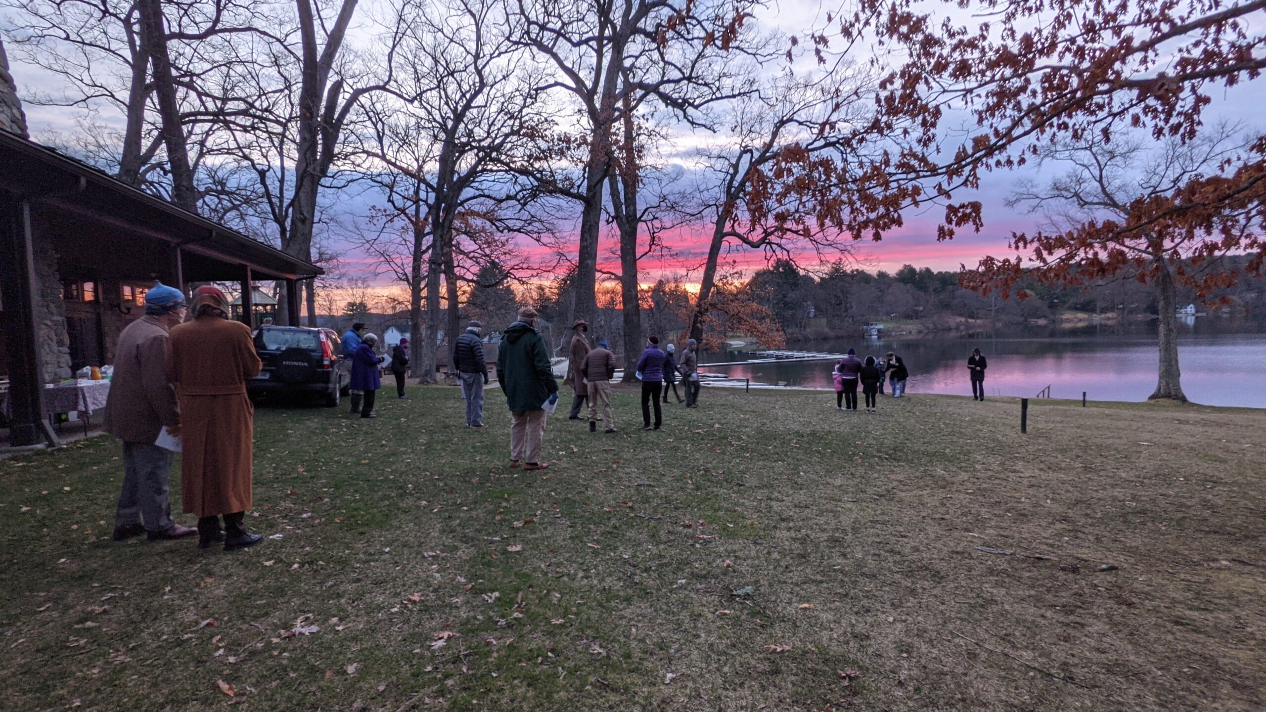 Easter Sunrise @ the Town Grove