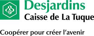 Logo Desjardins Fond Blanc