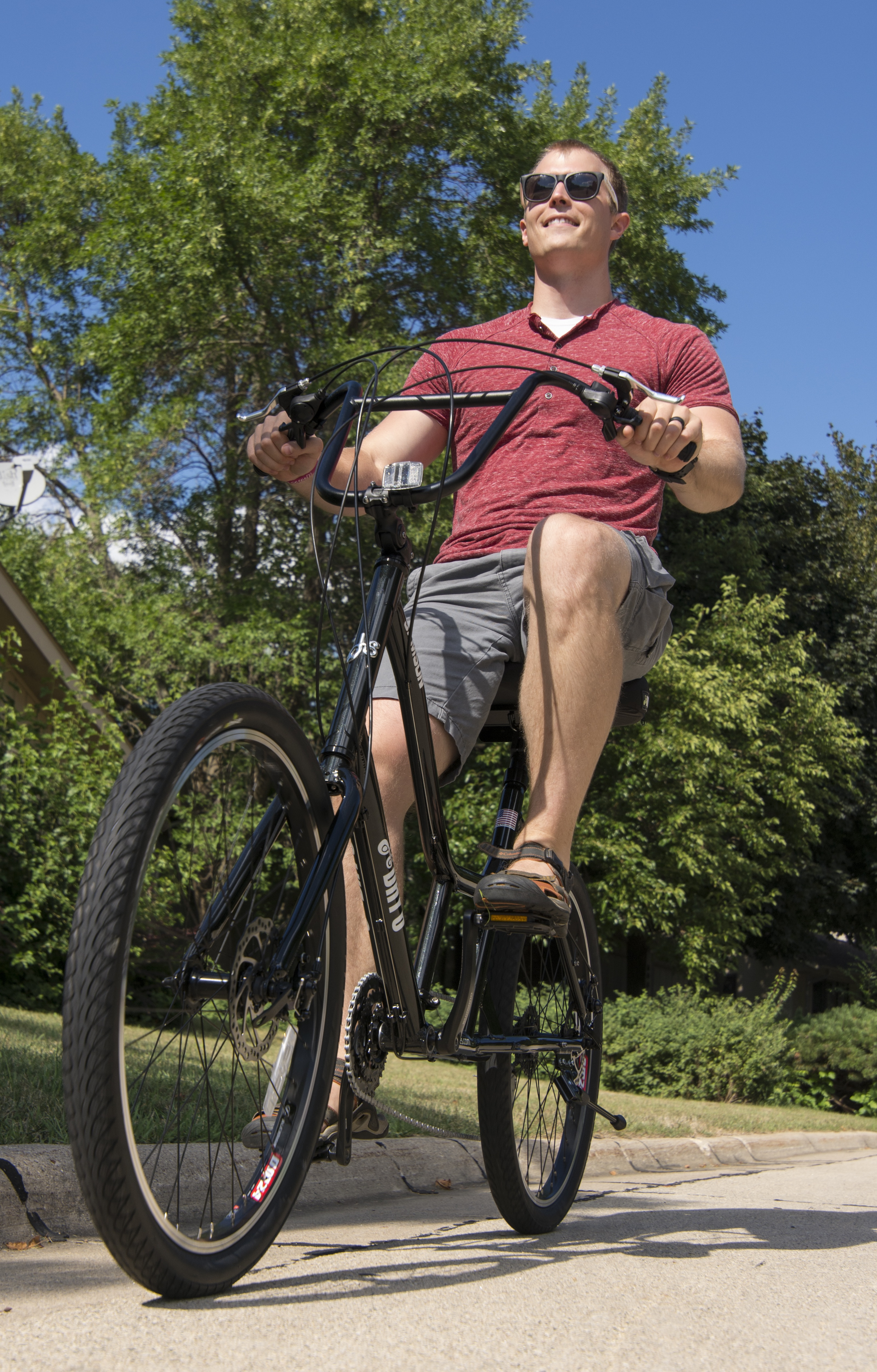 Day 6 Bicycles are the most comfortable semi-recumbent crank forward bikes available