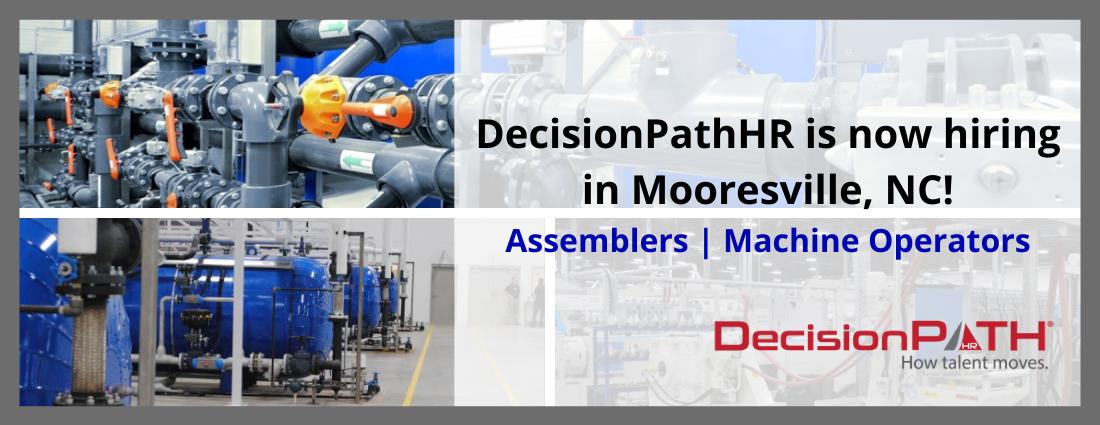 DecisionPathHR hiring in Mooresville