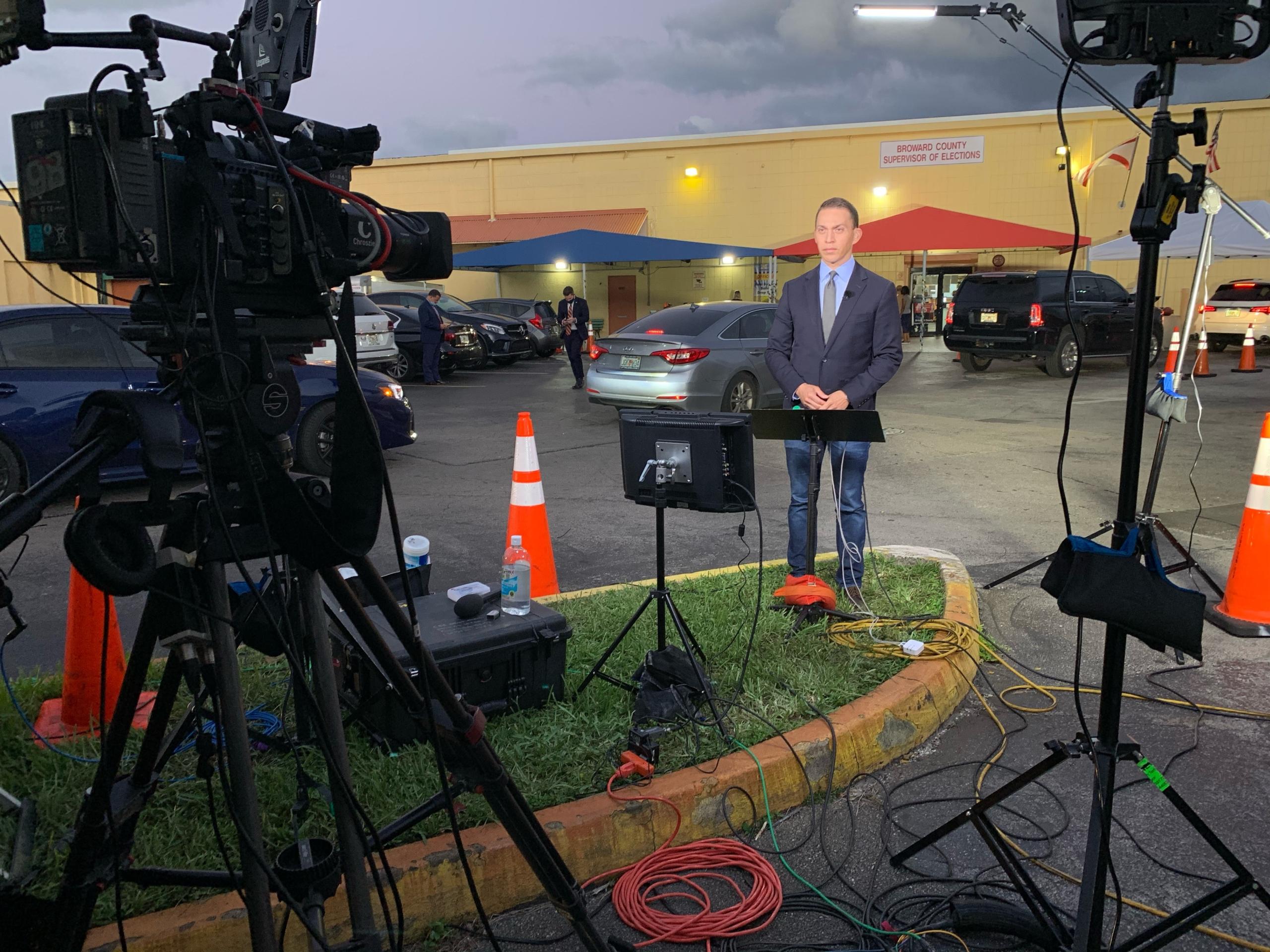 CBS NEWS LIVE SHOT