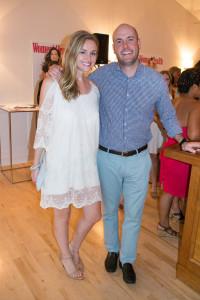 Lindsay Brown and Bryan Quinlan.