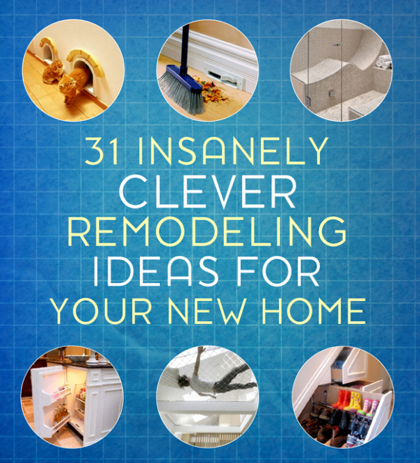 Clever remodeling ideas from Buzzfeed!