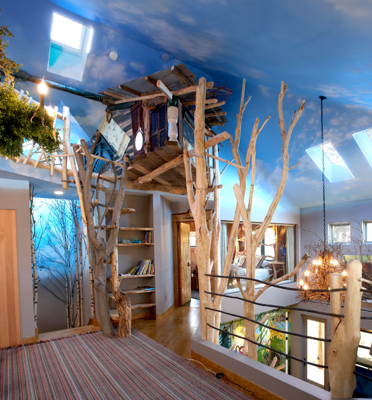 You don't need to have the coolest treehouse on the block.