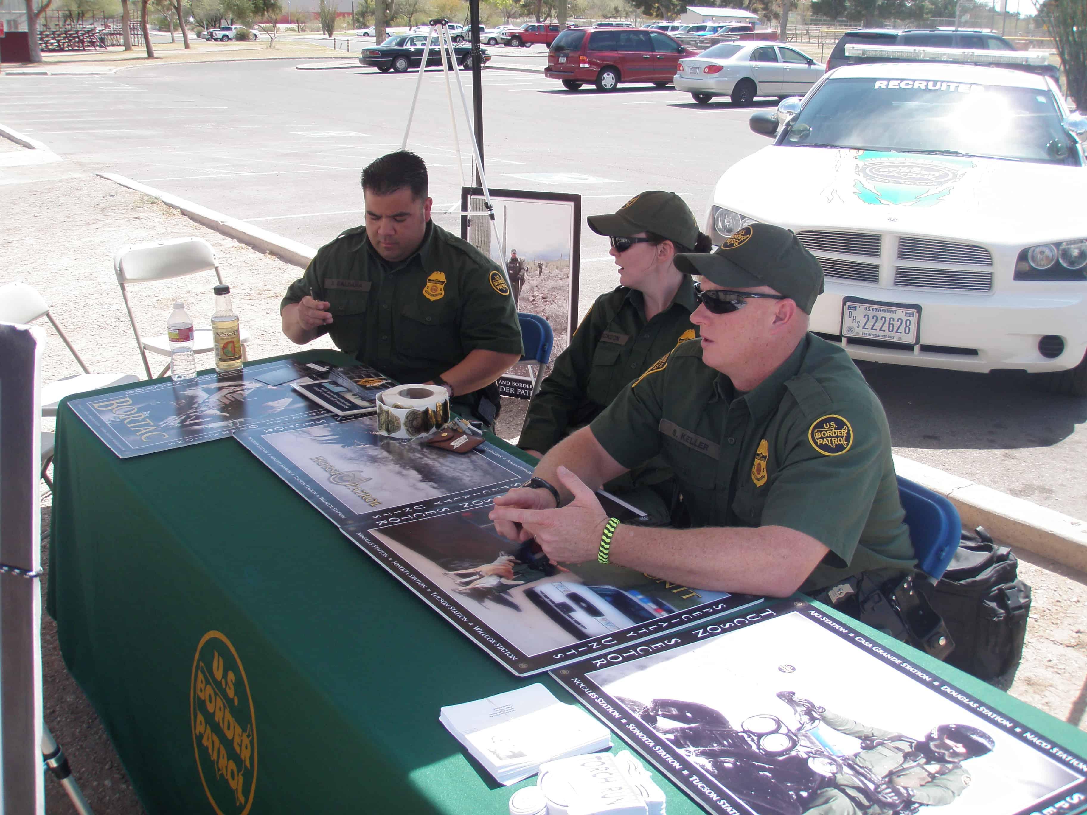 Border Patrol Career Days 2012