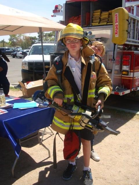 Fire Dept College Career Days 2013