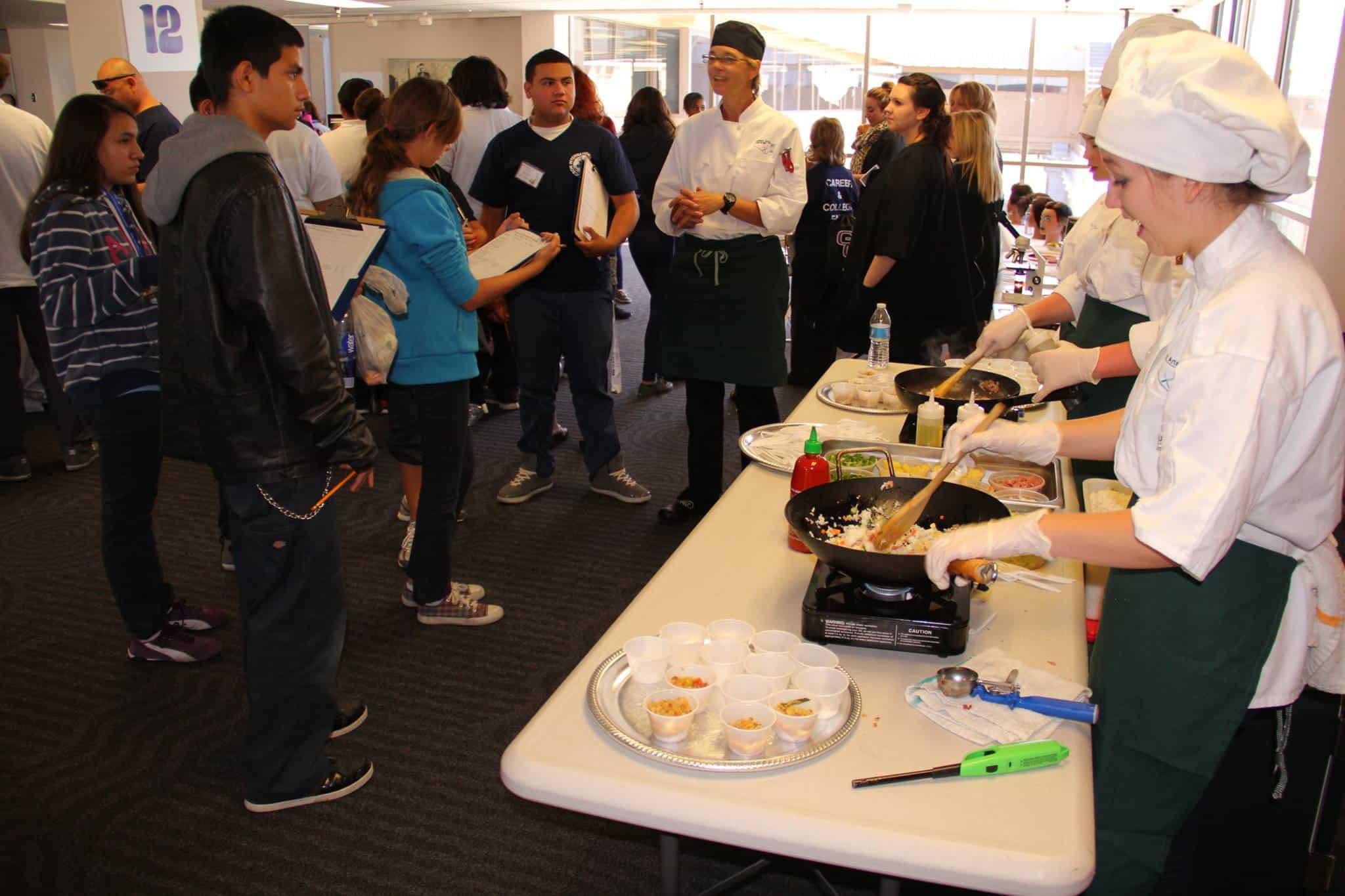 Chef's School - College & Career Fair 2013