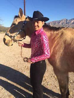 Kynzie&horse