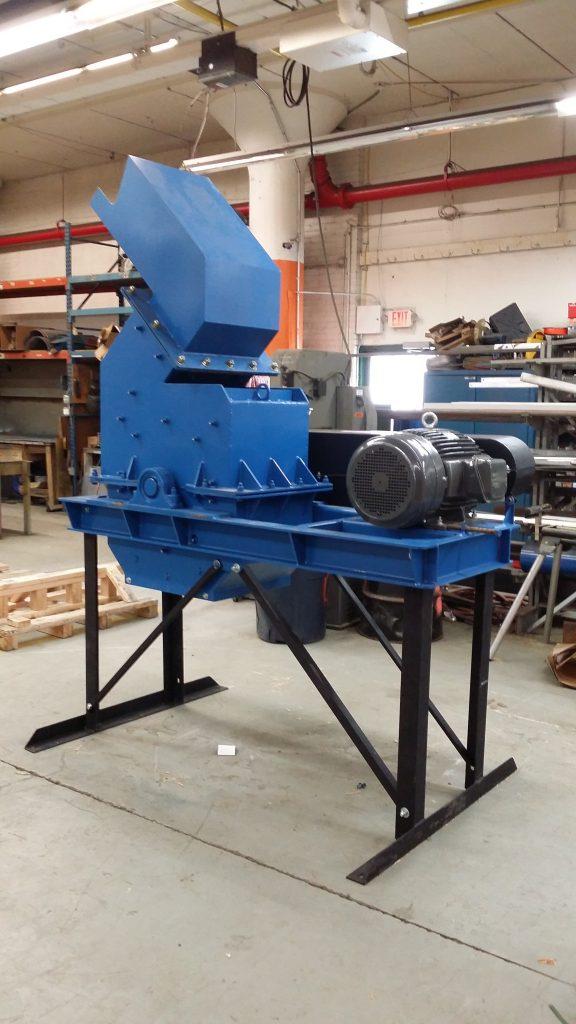 e-scrap hammer mill