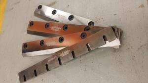 Blades for granulator