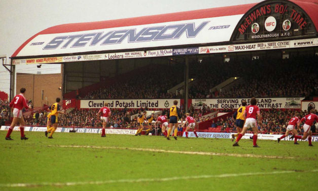 As Bad As Things Got: Middlesbrough, 22nd August 1986