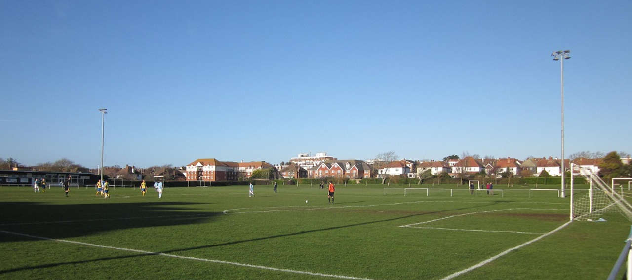 Bexhill United. Part public, part private